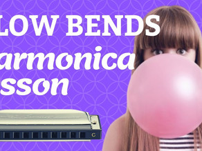 How to play blow bends on harmonica