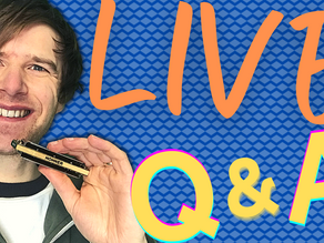 Live Q&A on all things harmonica