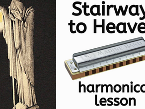 Stairway to Heaven (Led Zeppelin) - Harmonica Tabs & Lesson