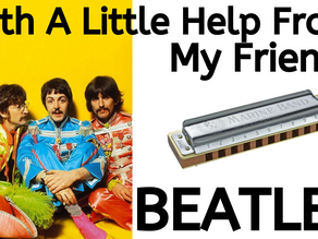 With A Little Help From My Friends by the Beatles - Harmonica Tabs & Lesson