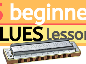 5 beginner blues harmonica lessons