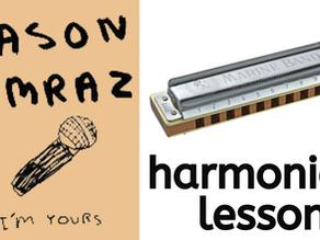 I'm Yours (Jason Mraz) - Harmonica Tabs & Lesson