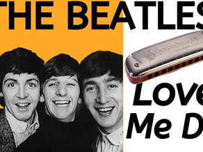 Love Me Do by the Beatles - Free Harmonica Tabs & Lesson