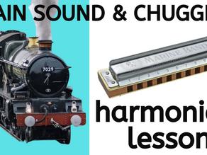 How to play train rhythms (chugging) - free harmonica lesson