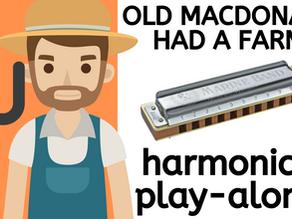 Old MacDonald Had a Farm - Harmonica Lesson & Tabs
