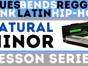 Natural Minor Harmonica Course for Beginners