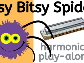 Itsy Bitsy Spider - Harmonica Tabs & Lesson