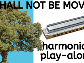 I Shall Not Be Moved - free harmonica tabs & lesson