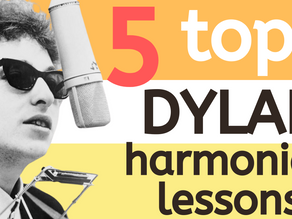 Top 5 Bob Dylan harmonica lessons and tabs
