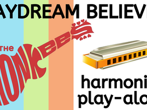The Monkees - Daydream Believer harmonica lesson