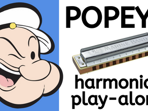'Popeye' TV theme - Harmonica Tabs & Lesson