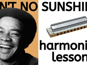 Ain't No Sunshine by Bill Withers - Harmonica Tabs & Lesson