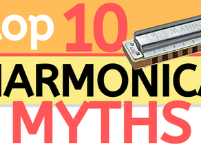 Top 10 myths about playing harmonica