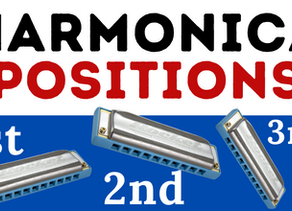 What are positions on harmonica?