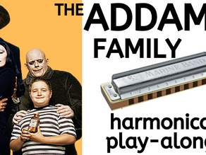 How to play 'The Addams Family' theme on harmonica