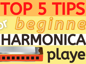 Top 5 Tips For Beginner Harmonica Players