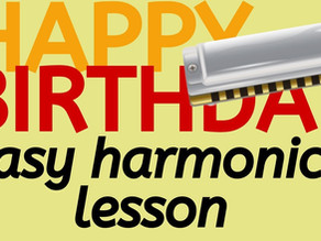 Happy Birthday to You - Harmonica Tab & Lesson