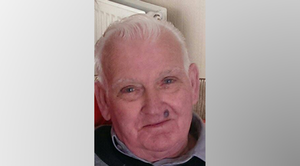 John is described as 5ft8, of slim build and gaunt appearance, with white hair.