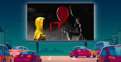 Worlds largest screen is coming to Ayr for drive-in cinema this Halloween