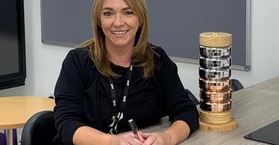 Inspirational Head Teacher receives MBE