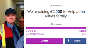 Nearly £3,000 raise to help Ayrshire bus driver and dad of 4 John Kilties family.