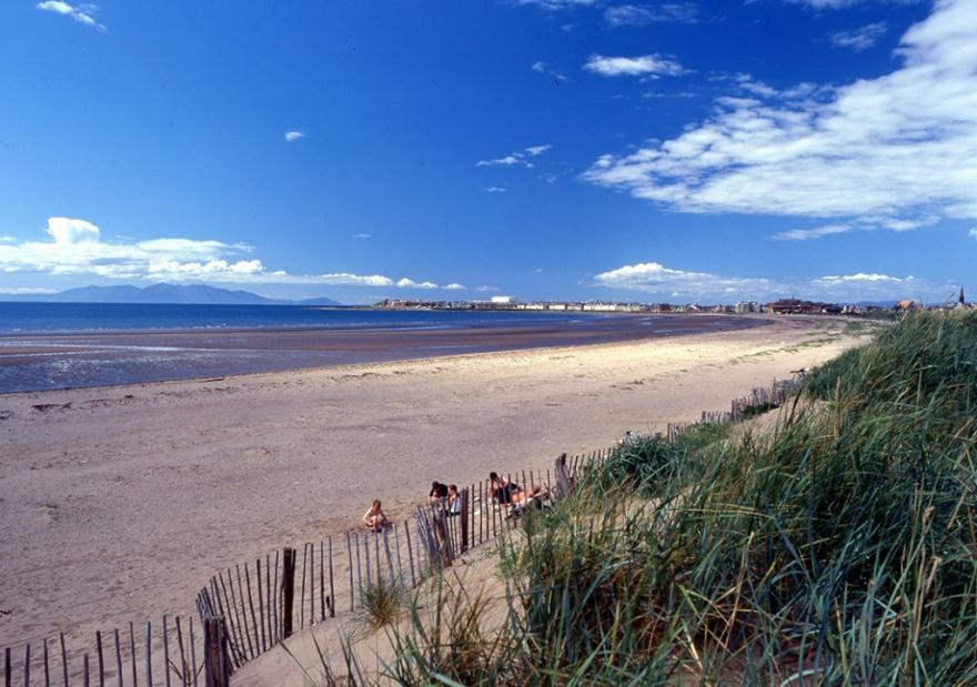 Troon (South Beach) has achieved the new bathing water quality standard