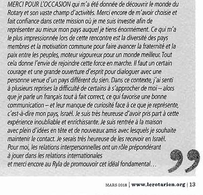 201803 Le Rotarien - Ryla Montpelier - J