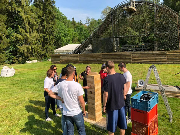 Teambuilding et barbecue au Moulin d'Altwies - Juin 2019