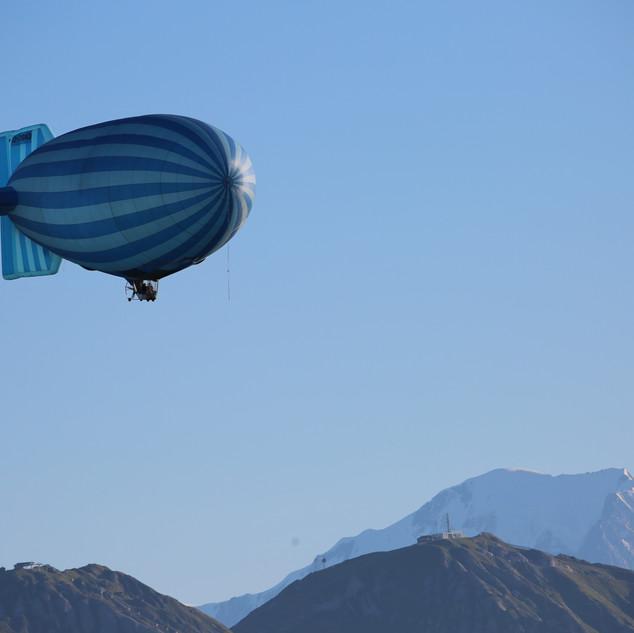 Airship New Spirit Balloons Montgolfière