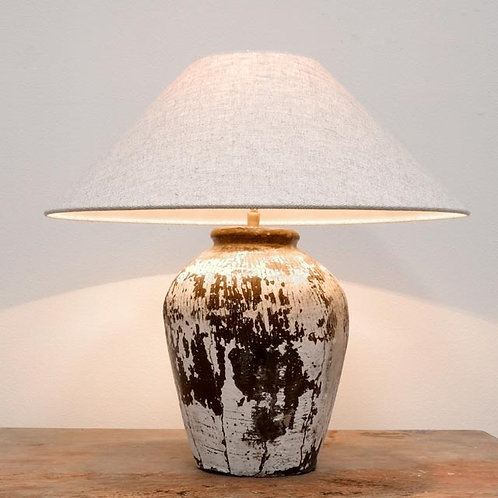 Table Lamp, Old wine pot
