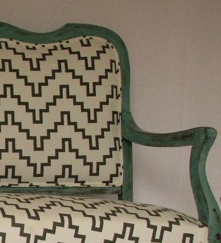 Antique French Painted Sofa