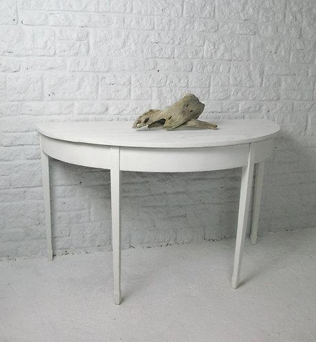 Demi Lune antique table