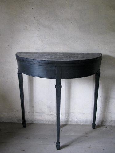 Edwardian demi Lune table