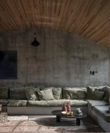Organic interior style