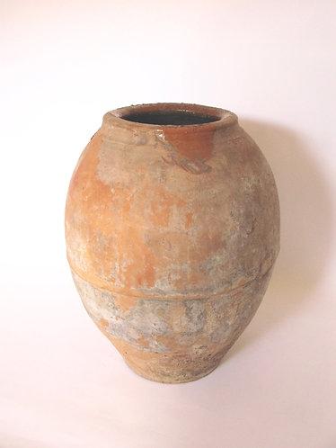 SOLD Antique Spanish Olive Pot