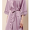 Thumbnail: Childrens Abigail Satin Lace Personalised Robe