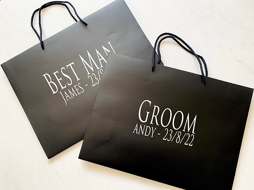 Black Trajan Gift Bag