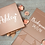 Thumbnail: Personalised Medium Gift Box Inside and Outside Text