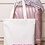 Thumbnail: Bridal Party Personalised Tote Bag Metallic Text