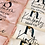 Thumbnail: Kids Gold Blush Satin Lace Personalised Robe