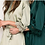 Thumbnail: Lottie Satin Lace Personalised Robe