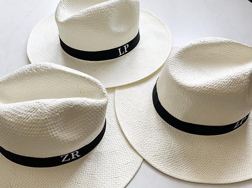 Ladies Personalised Panama Hat
