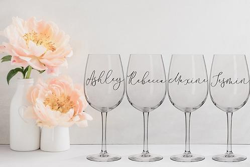 Serenity Wine Glass
