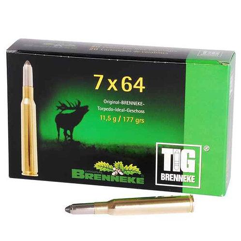 BRENNEKE 7X64 TIG 11,5g
