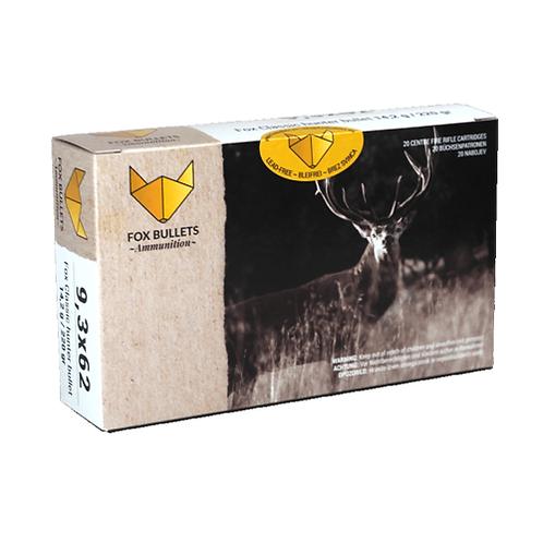FOXBullets streljivo 9,3x62 14,2 g