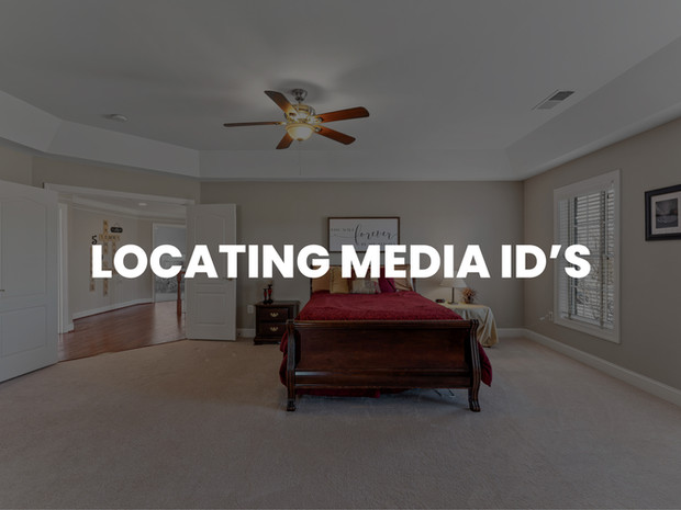 LOCATING MEDIA ID'S