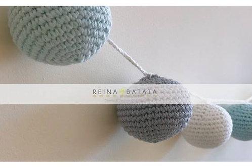 Guirnalda de crochet