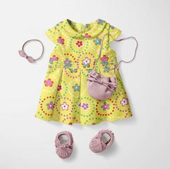 Toddler girls dress.
