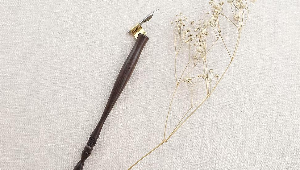 Wooden Oblique Pen