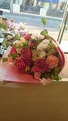 ブーケタイプの花束.JPG